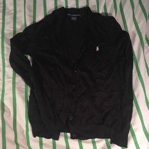 Ralph Lauren black cardigan